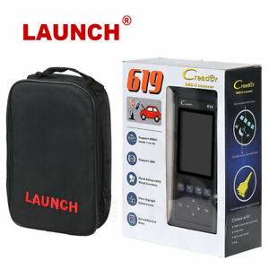 Launch Cr619 Obd2 Scanner Auto Engine Abs Srs Airbag Code Reader