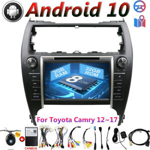For Toyota Camry 2012 2017 Android 10 Gps Car Radio Stereo Navi Head Unit Dab