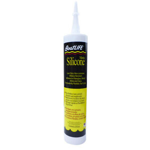 Boatlife Silicone Rubber Sealant Cartridge Clear