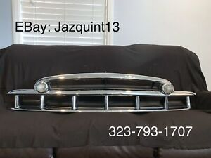 1949 og Chevrolet Car Grille Triple Plated