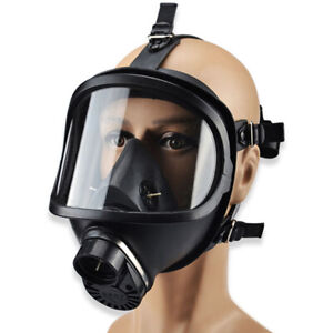 Full Face Mf14 Gas Mask Respirator Filter For Painting Spraying Lab Chemistry
