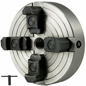 6 4 Jaws Self centering Lathe Chuck Accessories Wood