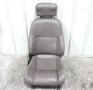 1993 2002 Firebird Trans Am Passenger Side Tan Leather Seat W Manual Track Used