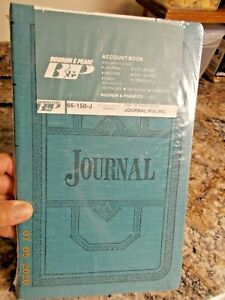 New Sealed B p Boorum Pease 66 150 j Journal Ruling Account Book 150 Pages