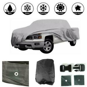 Pick Up Truck Car Cover Outdoor Snow Uv Scratch Proof Up To 17 5 Polypropylene
