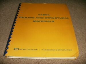 Hysol Tooling And Structural Materials Book 50 s 60 s Estate