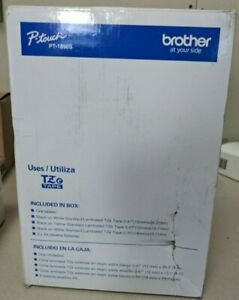 Brother P touch Desktop Label Maker And Tze Tape Bundle pt1890s