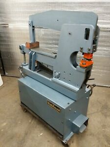 Scotchman Ironworker Model 4014c 40 Ton Hydraulic 3 Hp 3 Phase 230v
