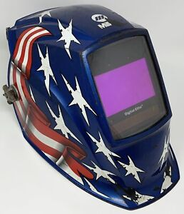 Miller Stars Stripes Ii Digital Elite Auto Darkening Welding Helmet 257216
