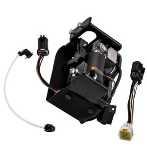 Suspension Air Compressor Pump 2007 2012 For Chevrolet Avalanche Ls 8cyl 5 3l