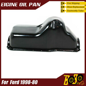 264 002 Engine Oil Pan For Ford 1980 1997 1998 V8 302 5 0l F 150 F 250 F 350