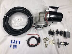 Brake Vacuum Pump Booster Electric Hot Rod Gm Chevy Ford Hot Rod Street Rod 12v