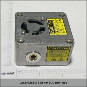 638 Nm 600 Mw Focusable Red Laser Module For Engraving Cutting And Marking