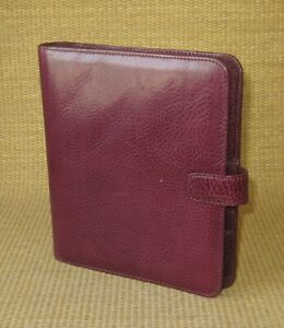 Classic compact Franklin Covey Unique sample Planner 75 Leather Open Binder
