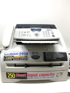 Lightly Used Brother Intellifax 2910 16mb High Speed Phone Fax Copy Laser Print