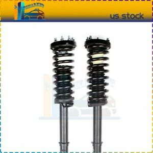 For 2003 07 Honda Accord Front Complete Struts Shock W Coil Spring Assembly 2