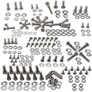Small Block Stainless Engine Hex Bolt Kit For Chevy 265 283 302 305 307