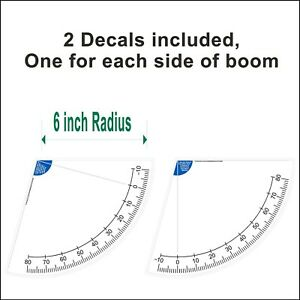 6 Inch Crane Boom Angle Indicator Decal Kit Left And Right Side