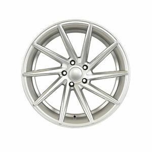 19 Silver Wheels Swirl Style Staggered Fit Bmw E60 5 Series 525i W013