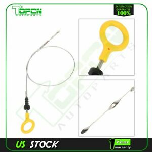 Engine Oil Level Dipstick For Nissan Patrol Gu Y61 Zd30 Zd30ddti 3l Diesel