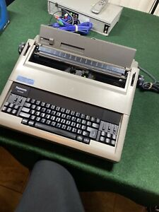 Rare Panasonic Electric Typewriter Model Kx e400 Tested Cleaned And Working
