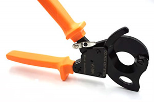 Ratchet Cable Cutters Aluminum Copper Wire Cutting Electrical Wire Ratcheting