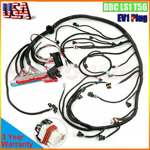 1997 2006 Ls1 Standalone Wiring Harness Dbc T56 Or Non electric Tran 4 8 5 3 6 0