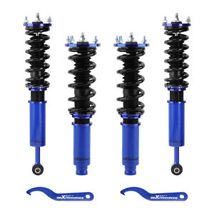 Coilover Suspension Lowering Kit For Honda Accord 1998 1999 2000 2002 Adj Height