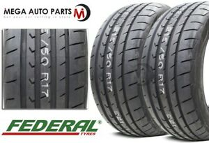 2 Federal Evoluzion St 1 285 35r18 101y Xl Ultra High Performance Summer Tire