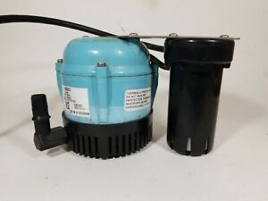 Little Giant 550521 1 abs Discharge Shallow Pan Condensate Removal Pump 115v 205