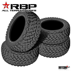 4 X New Rbp Repulsor M t 33x12 50r20lt 114q Performance Off road Mud Tires