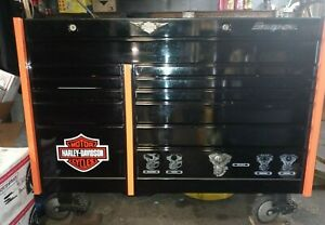 Snapon Toolbox Limited Edition Harley Davidson 54 Krl7002pfa Excellent Cond