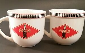 Two Gibson Coca Cola Mugs