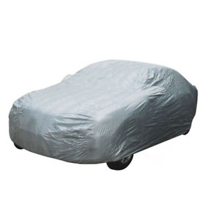 Car Cover Waterproof Dust Resistant Uv Sun Protection Outdoor Auto Universal