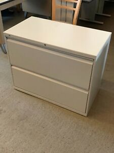 2 Drawer Lateral Size File Cabinet By Hon Office Furniture 36 w