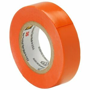 Scotch Vinyl Color Coding Electrical Tape 35 1 2 In X 20 Ft Orange