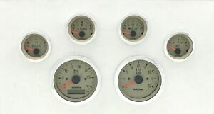 Dolphin Gauges 6 Gps Street Rod Gauge Set Street Rod Hot Rod Universal Tan