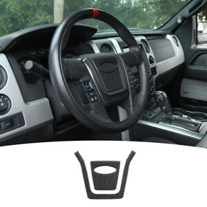 2pcs Car Steering Wheel Center Sticker Decal For Ford F150 2009 2014 Accessories