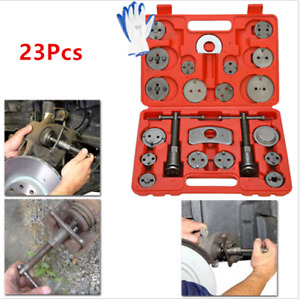23pcs Universal Disc Brake Caliper Brake Piston Wind Back Rewind Tool Us Ship