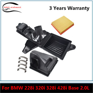 New Air Cleaner Intake Filter Box Housing For 2014 2017 Bmw 328d Xdrive 2 0l