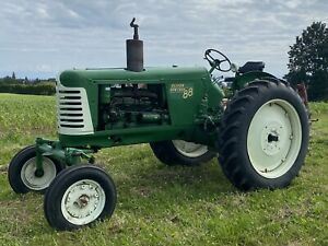 1951 Oliver 88 Row Crop Diesel 55hp 3 Point Hitch Tractor