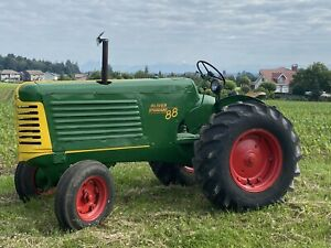 1948 Oliver 88 Standard Pulling Tractor 6 Cylinder Gas Pto No Hydraulics