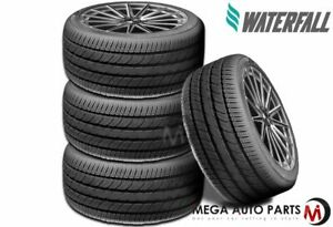 4 New Waterfall Eco Dynamic 175 70r13 82h All Season Tires 45000 Mile Warranty