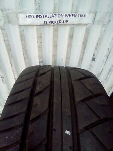 245 40r18 93w Dunlop Sport 600 7 32 Used Tires