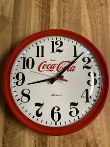 Coca Cola Clock Great Condition