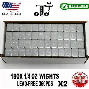 2 Box 360 Pieces Stick On Self Adhesive Wheel Weights 1 4oz Over 5 Lb