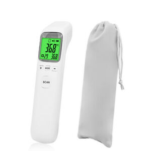 Medical Grade Non contact Infrared Forehead Thermometer Lcd Laser Ir Usa Ship