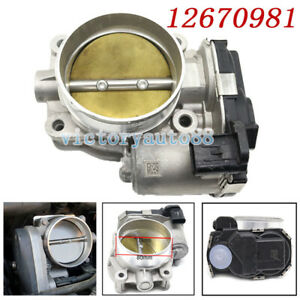 For Gm Throttle Body Front For Buick Cadillac Chevrolet Gmc 3 6l Engine 12670981