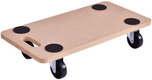 Goplus Moving Dolly Heavy Duty Wood Furniture Dollies Movers Carrier 23 X11 5
