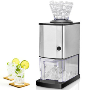 Ice Crusher Machine Electric Shaver Tabletop Portable Professional Kitchen Bar